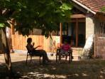 Converted barn self catering farmstay, France