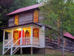 Blue Ridge Mountains lodge accommodation, USA