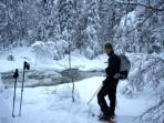 Finnish family winter adventure holiday