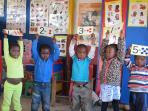 Community preschool volunteering in South Africa