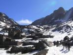 Morocco trekking holiday, Mount Toubkal in winter