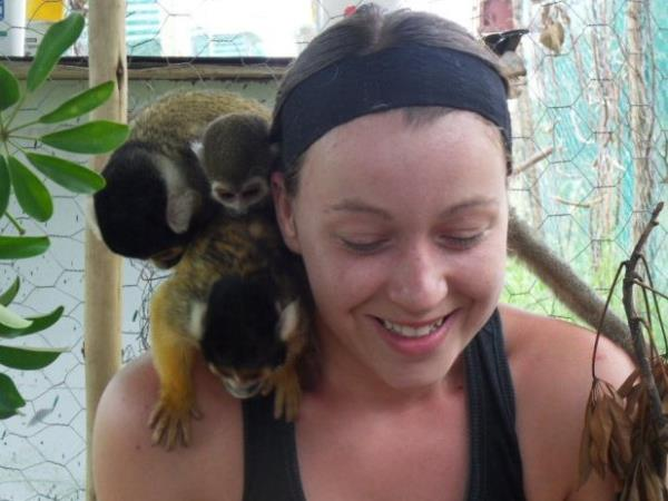 Primate rescue volunteer holiday in South Africa