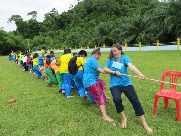 Summer camp in Thailand, teaching English