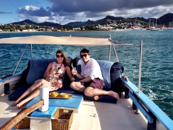 Sloop sailing cruise in St Lucia