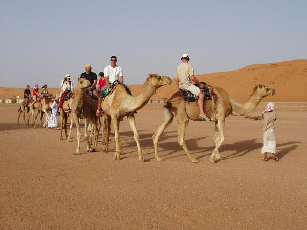 Trekking holiday in Oman, the SAS route