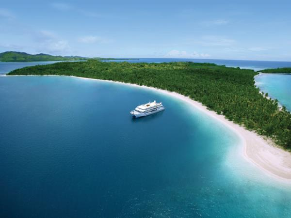 Fiji cruise, escape to paradise