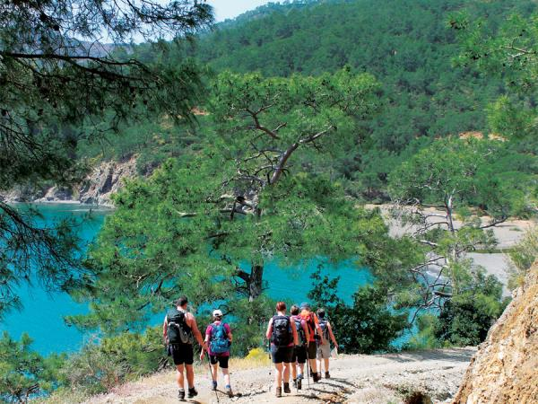 Walking holiday in Turkey, best of the Lycian Way