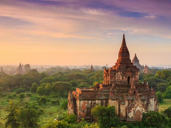 Burma walking tour, 15 days