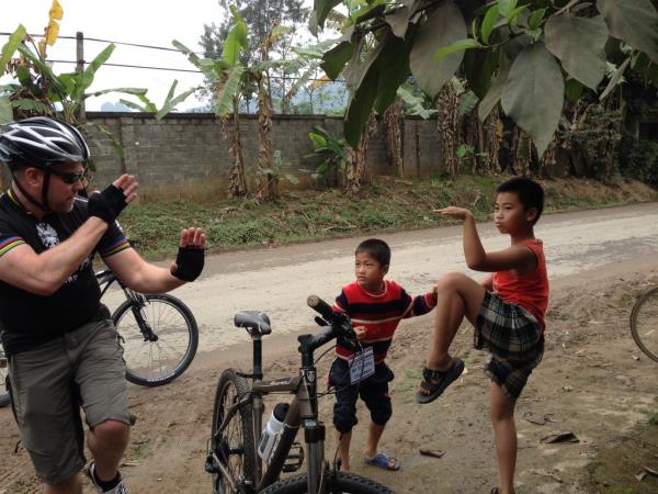 Vietnam & Laos cycling holiday, small group