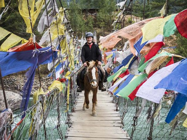 Horse trek holiday in Bhutan