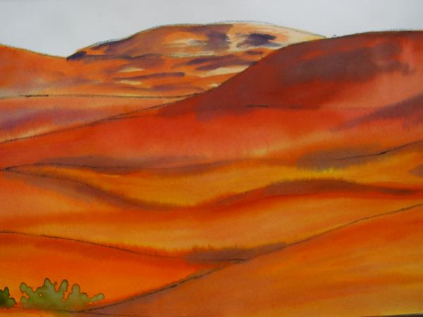Painting holiday in Moroccan desert