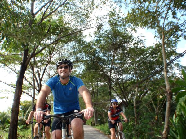 Chiang Mai to Bangkok by bike, historical Thailand