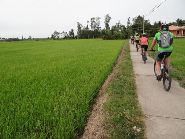Saigon to Bangkok cycling holiday