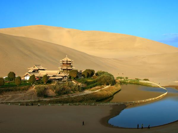 Silk Road in China holiday