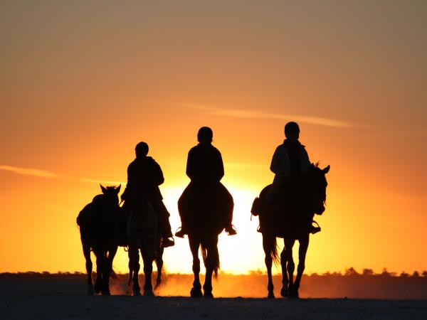 Horse riding holiday in Botswana