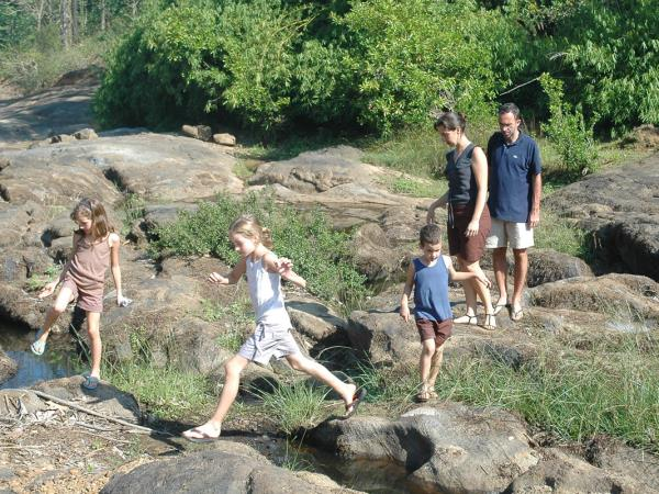Kerala family activity holiday, India