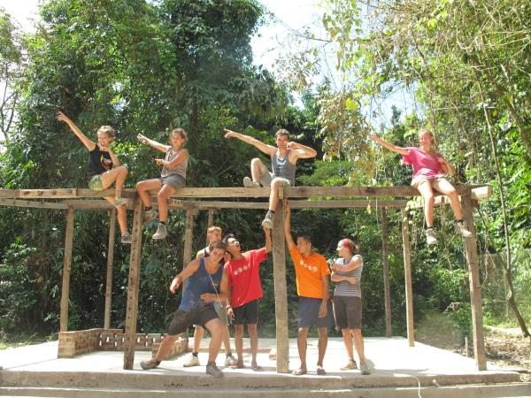 Community volunteering in Borneo and Cambodia