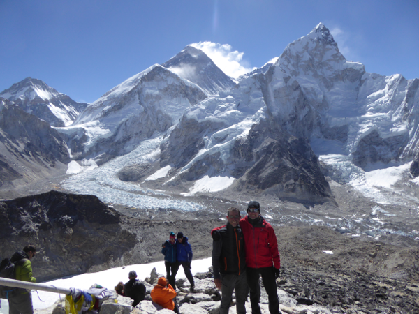 Private trek to Everest base camp and Gokyo Lakes