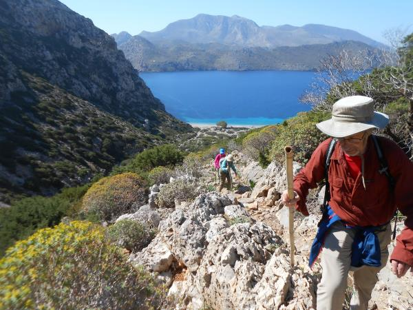 Walking & food holiday in Greece, Karpathos Island