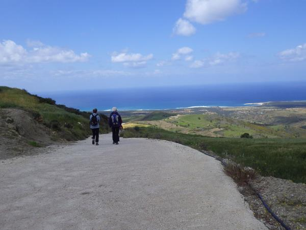 Cyprus guided walking holiday, Olympus to Akamas