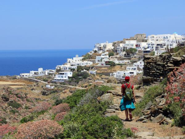 Walking holiday in the West Cyclades, Greece