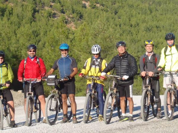 Turkey cycling tours