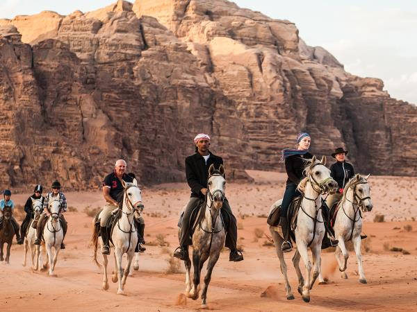 Petra and Wadi Rum horse riding holiday, Jordan