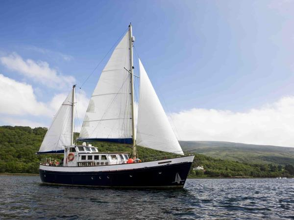 Wildlife sailing holiday in Scotland