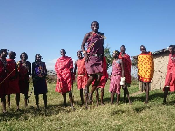 Maasai Mara safari camp in Kenya