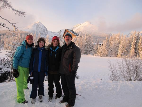 Winter family holiday in Slovakia, High Tatras