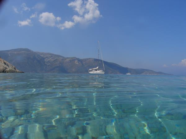 Sailing holiday in the Ionian Sea