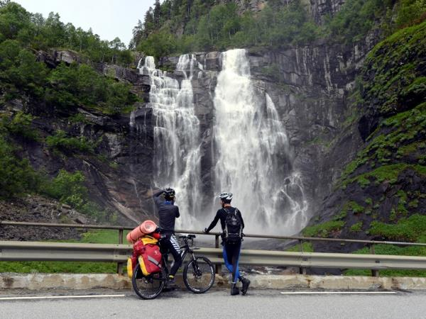 Norway self guided cycling holiday, Hardangerfjord