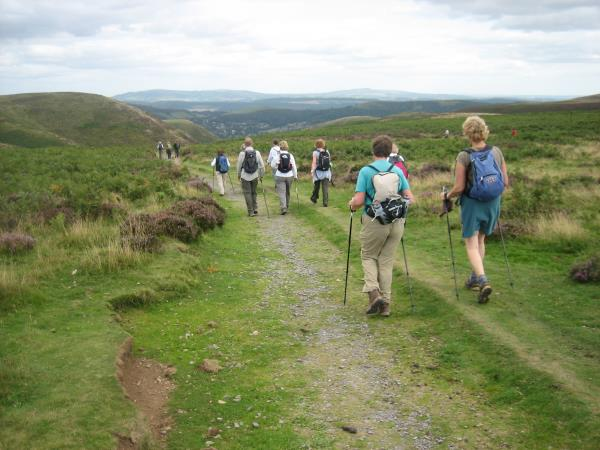 Shropshire Hills self guided walking holiday