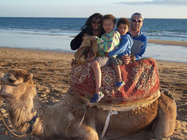 Morocco family holiday, berber & beach