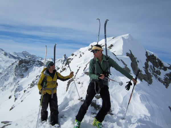 Ski touring holiday in France