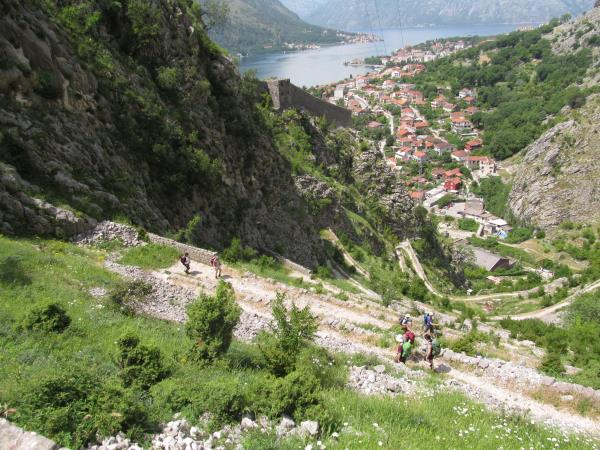 Montenegro walking holidays, self guided