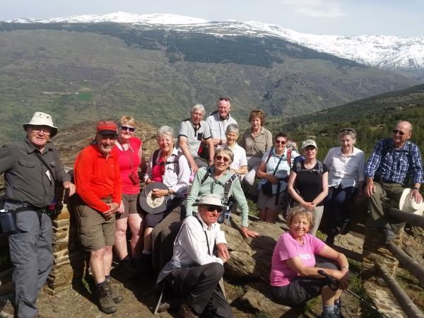 Las Alpujarras guided walking holiday, Spain