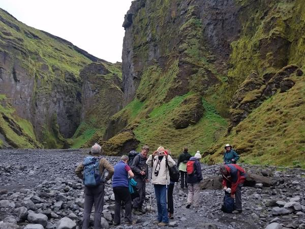Iceland walking holiday