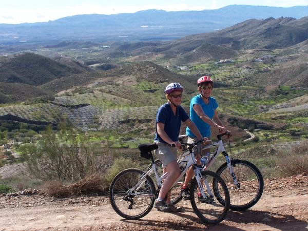 Family cycling holiday, Andalucia Spain