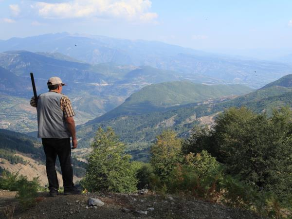 Walking holiday in rural Albania