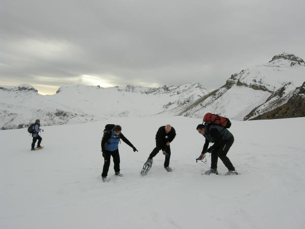 Winter walking & snowshoeing, France