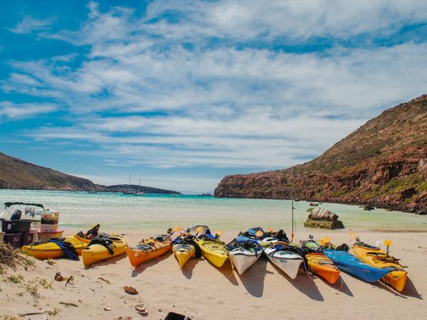 Mexico sea kayaking and camping holiday, Baja California