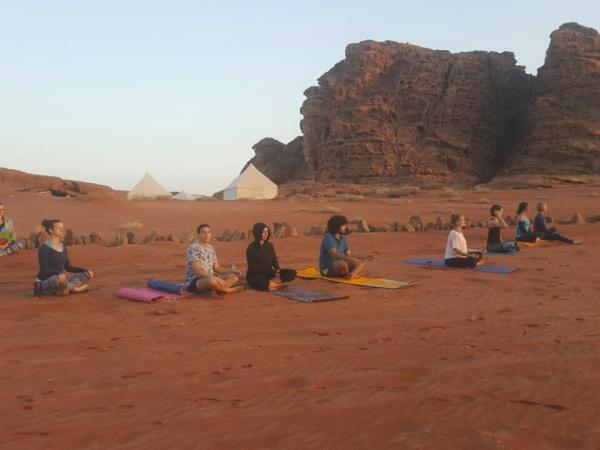 Yoga & mindfulness in Jordan