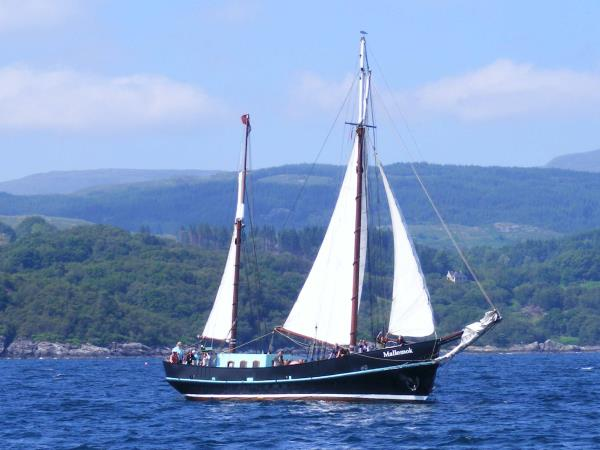 Kyles and Loch Fyne sailing holiday, Scotland