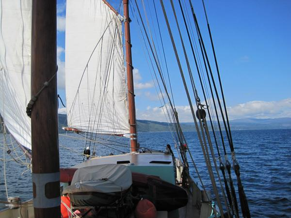 Hebridean sailing holiday in Scotland, 28 days