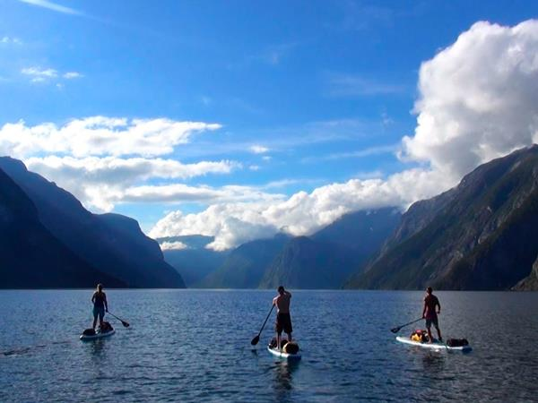 Stand up paddleboard holiday in Norway