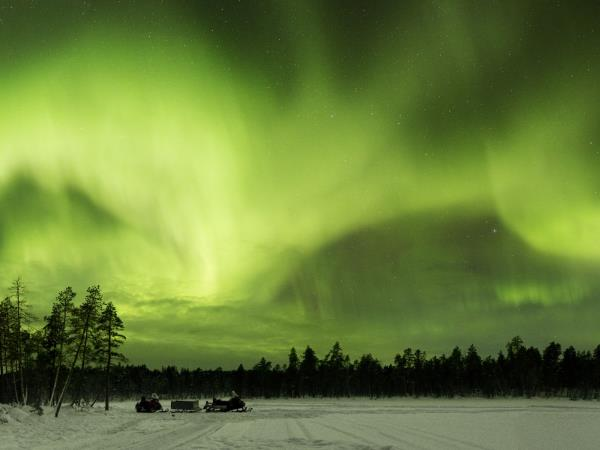 Northern Lights short break, Finnish Lapland