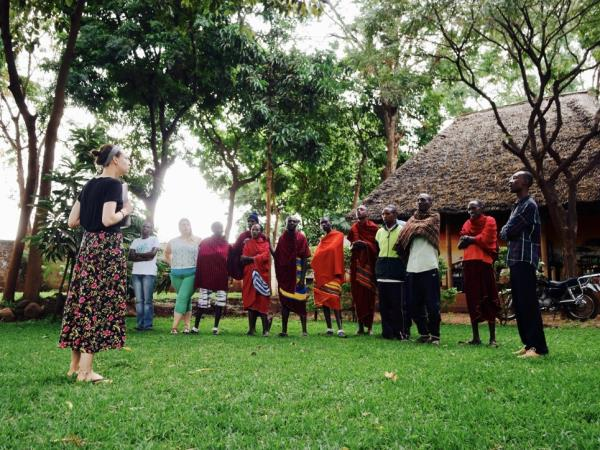 Community volunteering in Tanzania