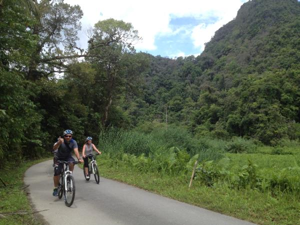 Borneo wildlife cycling holiday