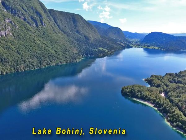 Slovenia lake swimming holiday